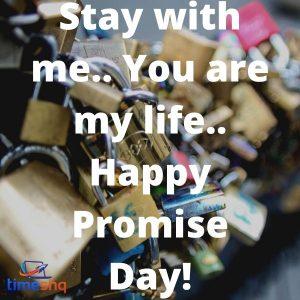 Happy Promise Day Whatsapp Quotes