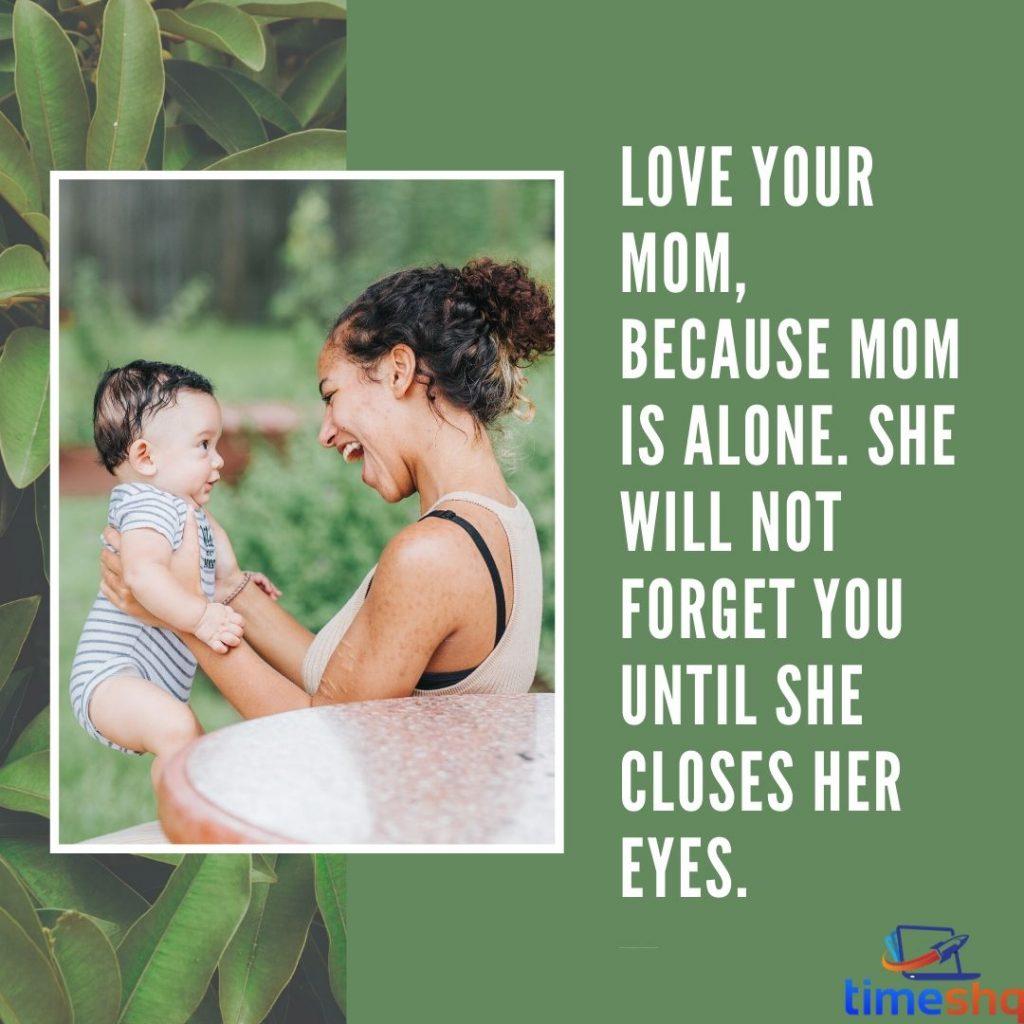 Long status for mom