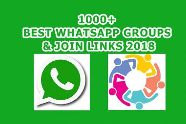 1000+ Best Whatsapp Groups & Join Links 2020